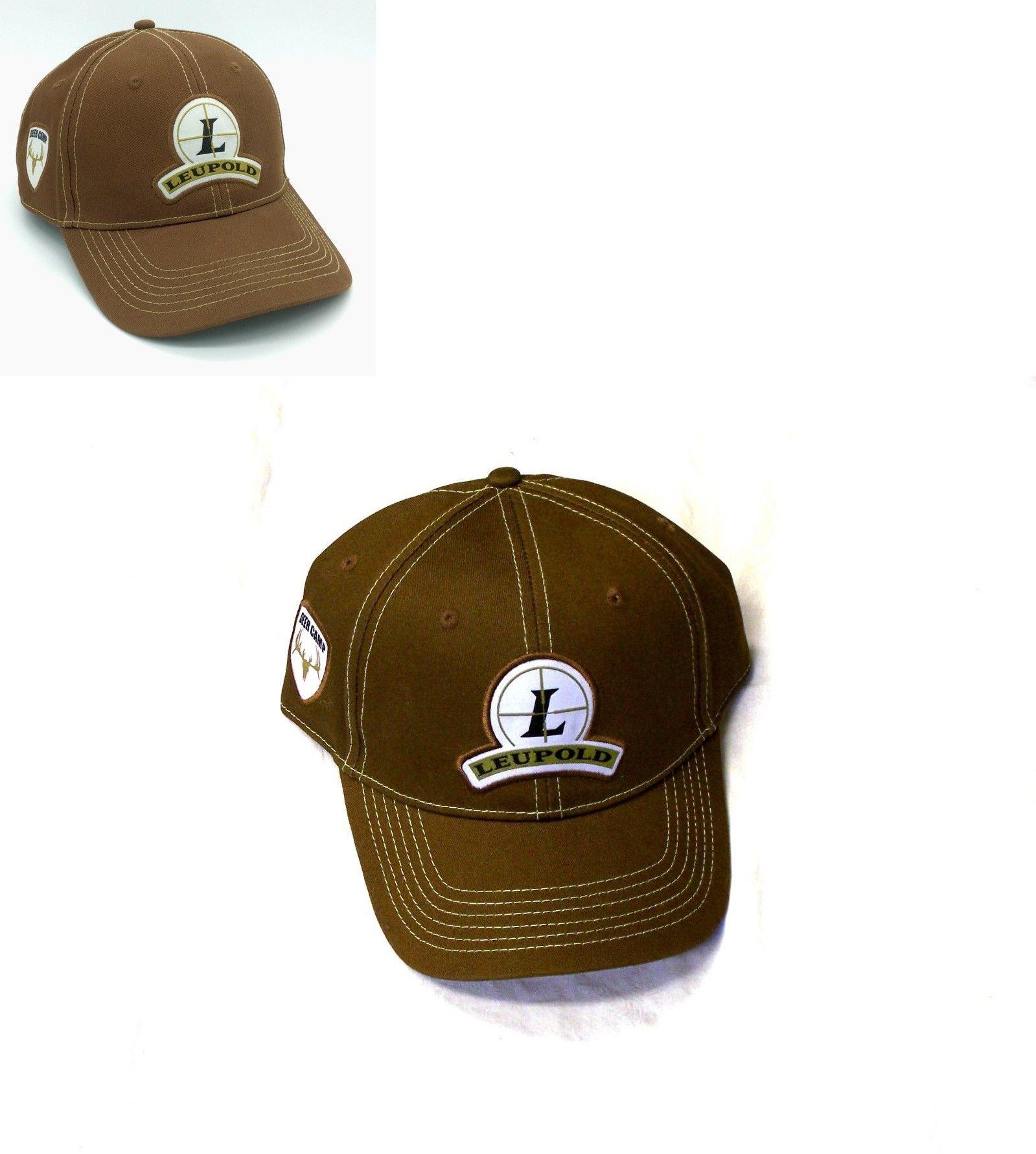 5d076d7b146 Hats 163543  Leupold Deer Camp Est 1907 Brown Strap Back Baseball Dad Cap  Hat Rifle