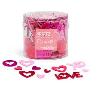 Valentine's Day Foam Stickers - Spritz™ : Target