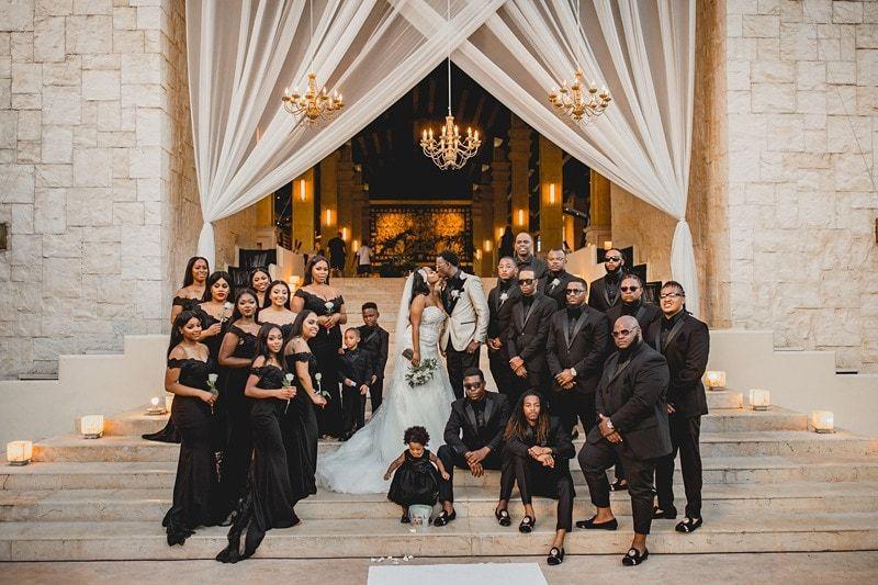 An Elegant Destination Wedding at Dreams Riviera C