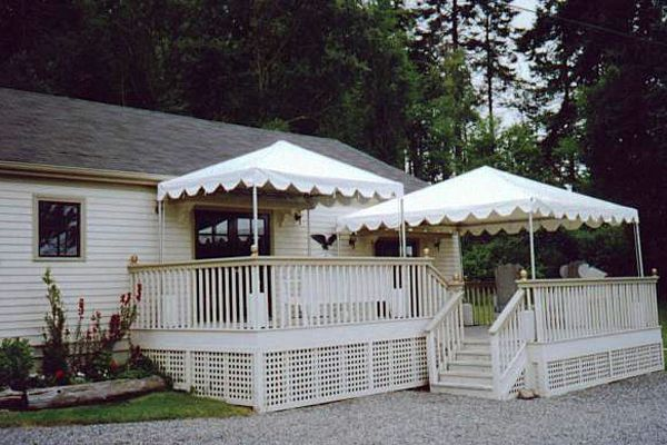 x and x frame-style tents on a deck : building a canopy over a deck - memphite.com