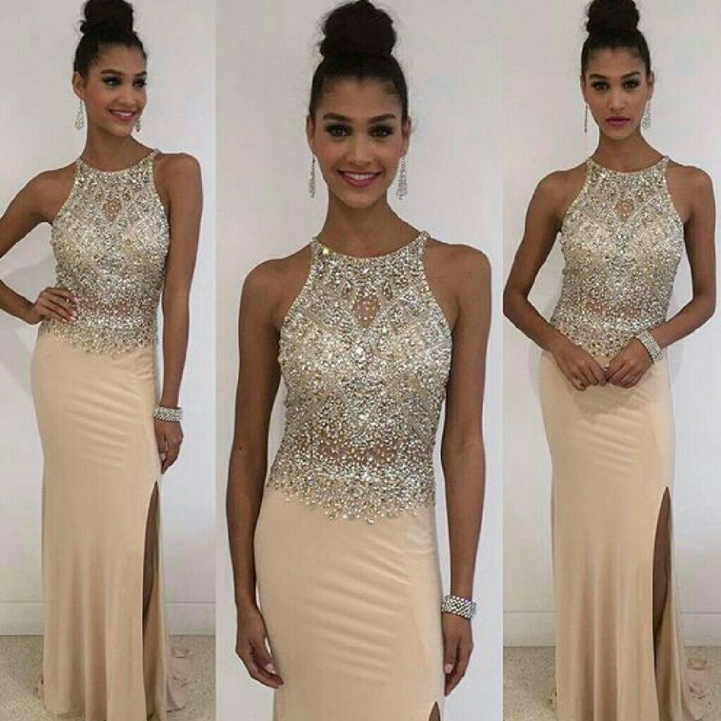 Light gold jersey gown gold lights and products