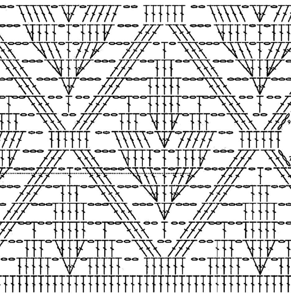 вязание платья крючком схема модели бесплатно