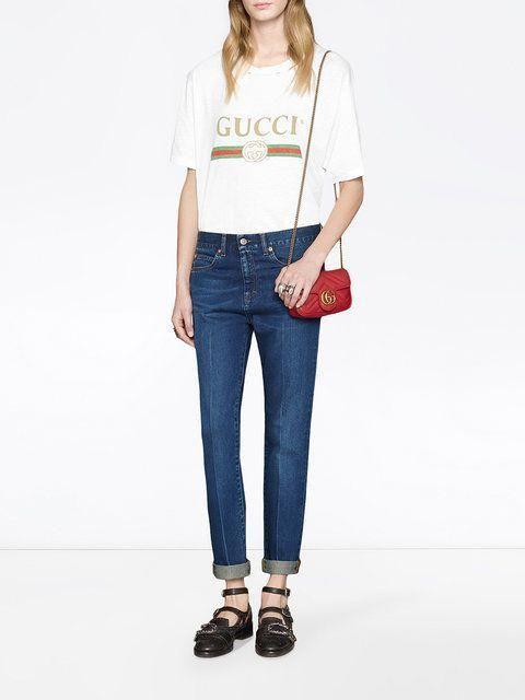 027e729cccc Gucci GG Marmont Matelassé Leather Super Mini Bag  Guccihandbags ...