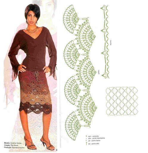 Rock Häkeln Crochet Skirt Häkeln Rock Crochet Skirt