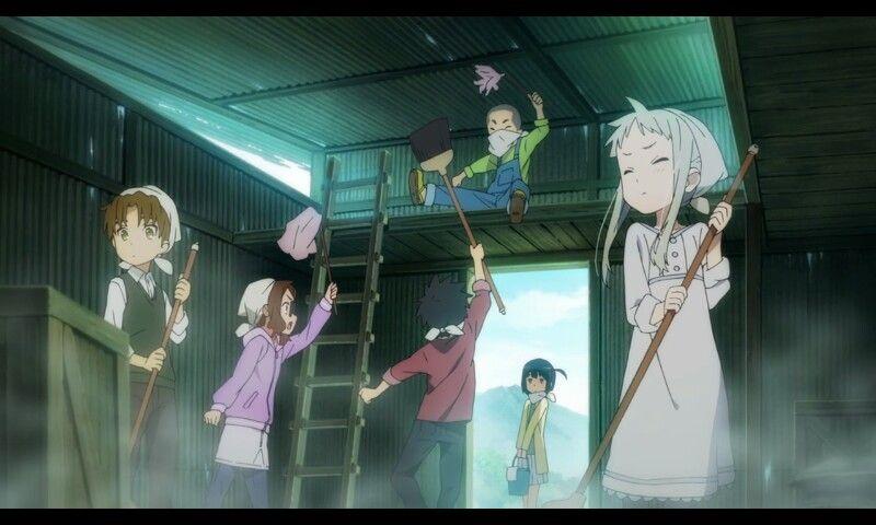secret base  Anohana, Japanese anime, A 1 pictures