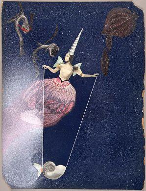Untitled (Celestial Fantasy with Tamara Toumanova) by Joseph Cornell / American Art