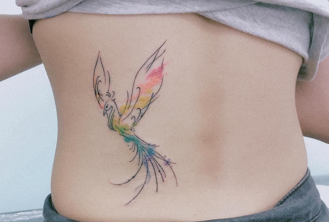 Phoenix Thanks Justineaubrey13 Tattooart Tattooartist Tattooideas Art Phoenix Tattoo Design Phoenix Tattoo Feminine Watercolor Phoenix Tattoo