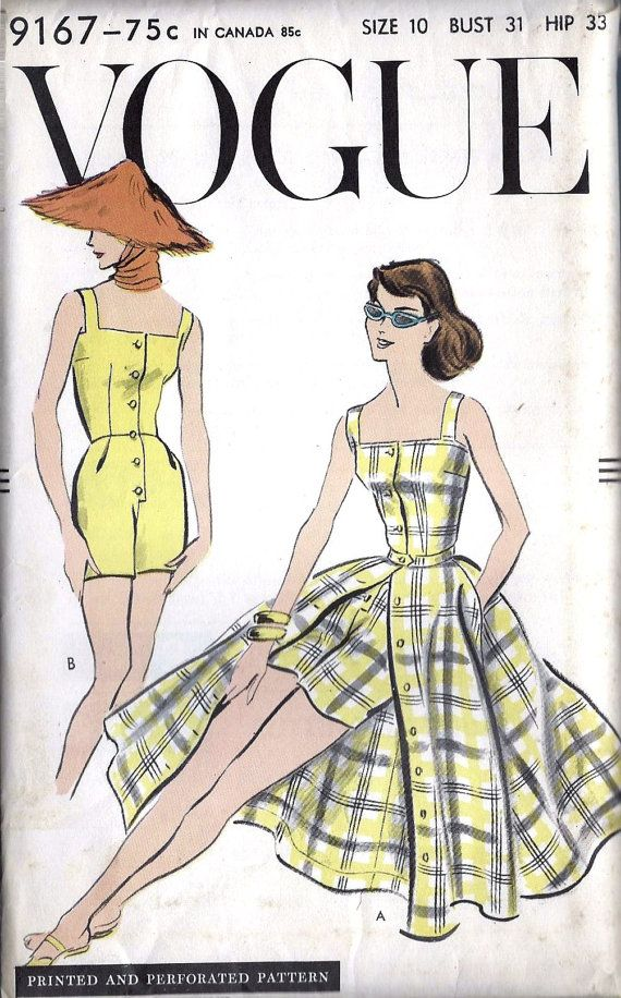 1960s Misses One Piece Playsuit and Skirt by MissBettysAttic, $18.00 ...