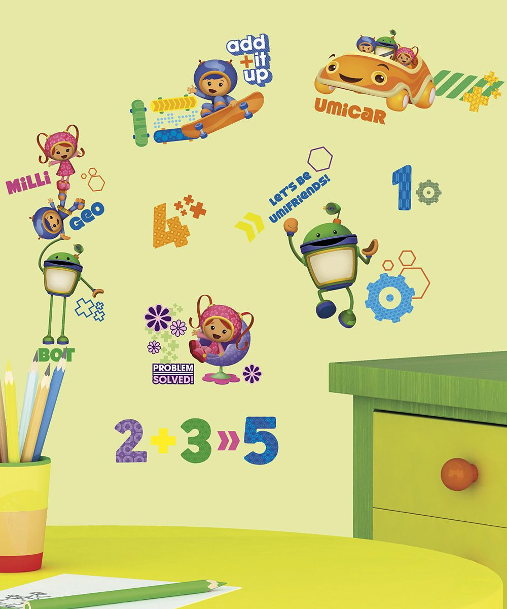 Team Umizoomi Peel & Stick Decals | Wall decals and Products
