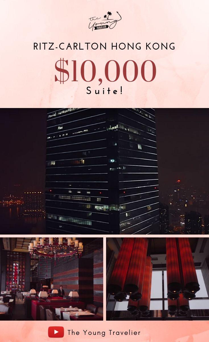 Ritzcarlton hong kong 10000 suite this is hong kongs