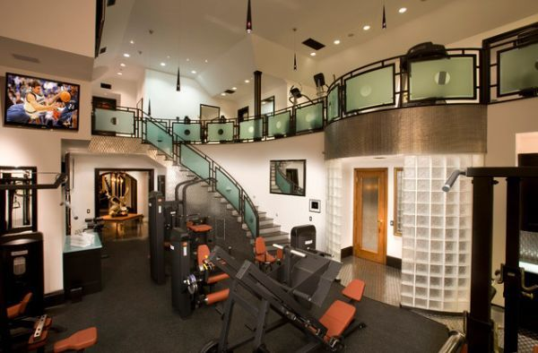 Bon French Style Custom Estate Featured On HGTV   Traditional   Home Gym   Los  Angeles   Arc Design Group