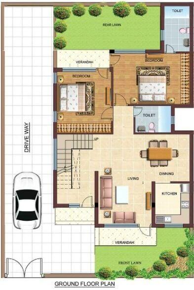 Duplex Floor Plans Indian Duplex House Design Duplex House Map Duplex House Design Duplex Floor Plans Model House Plan