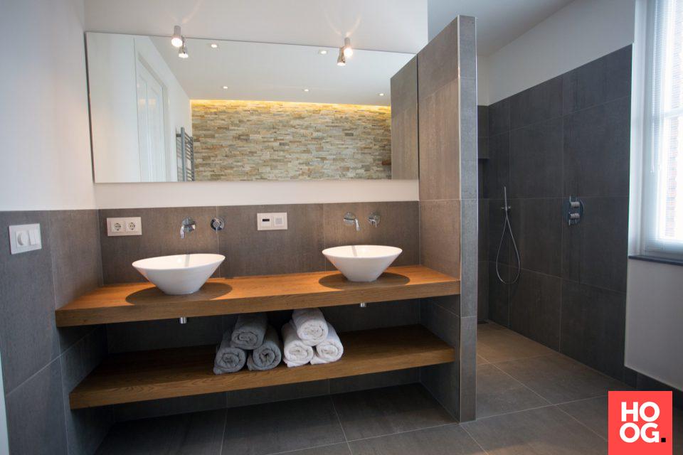 Luxe Badkamer Inrichten : Badkamer inrichting met luxe badkamermeubel badkamer ideeën