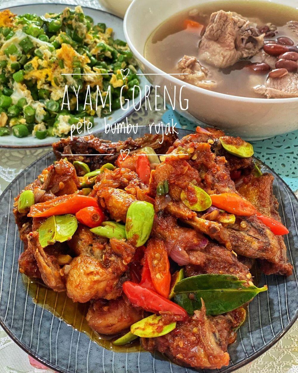 Ayam Bumbu Rujak Instagram Resep Ayam Resep Resep Makanan