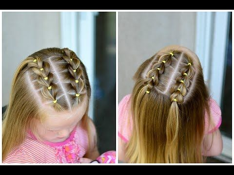 Perfect For School Weddings Dance Class And Beyond This Collection Of 15 Easy Braid Hairsty Kids Hairstyles Easy Toddler Hairstyles Toddler Hairstyles Girl
