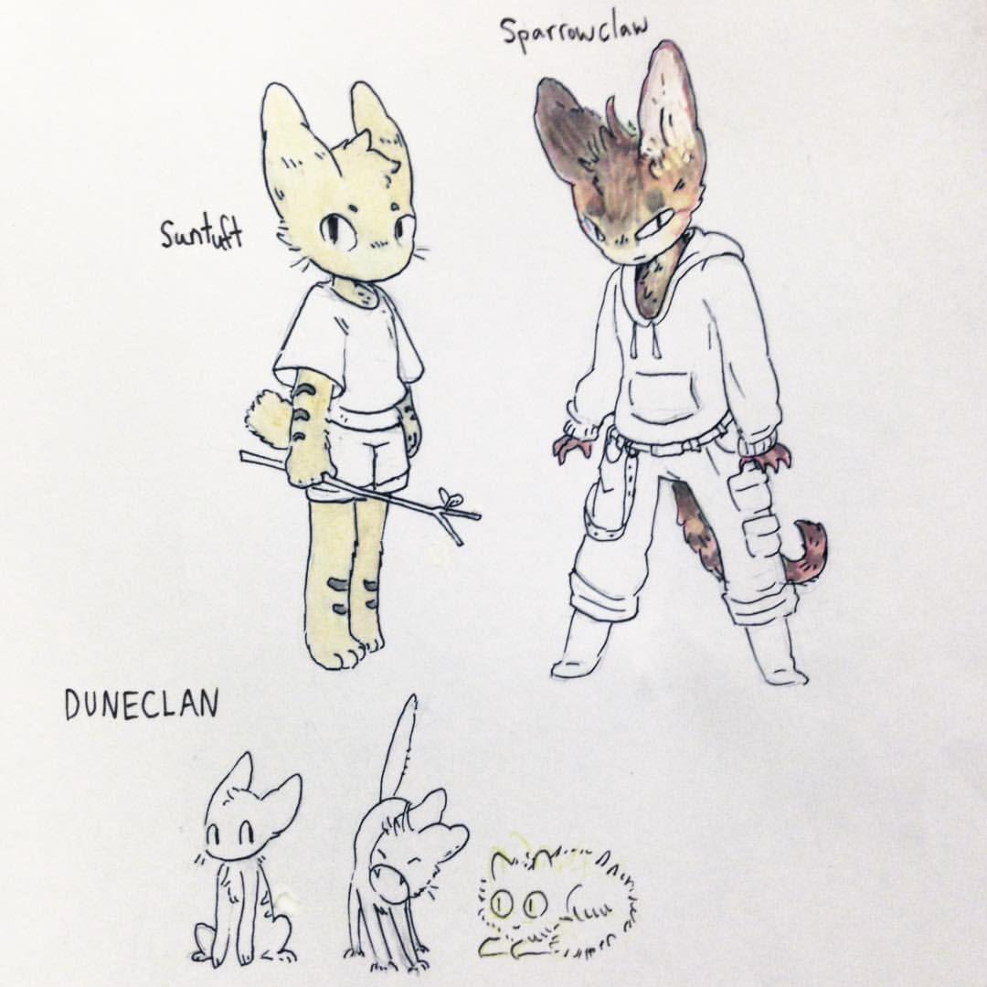 Reminiscing And Drawing Warrior Cats With Komunhorangi Idk Why