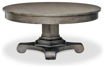 Drake Round Coffee Table Traditional Tables