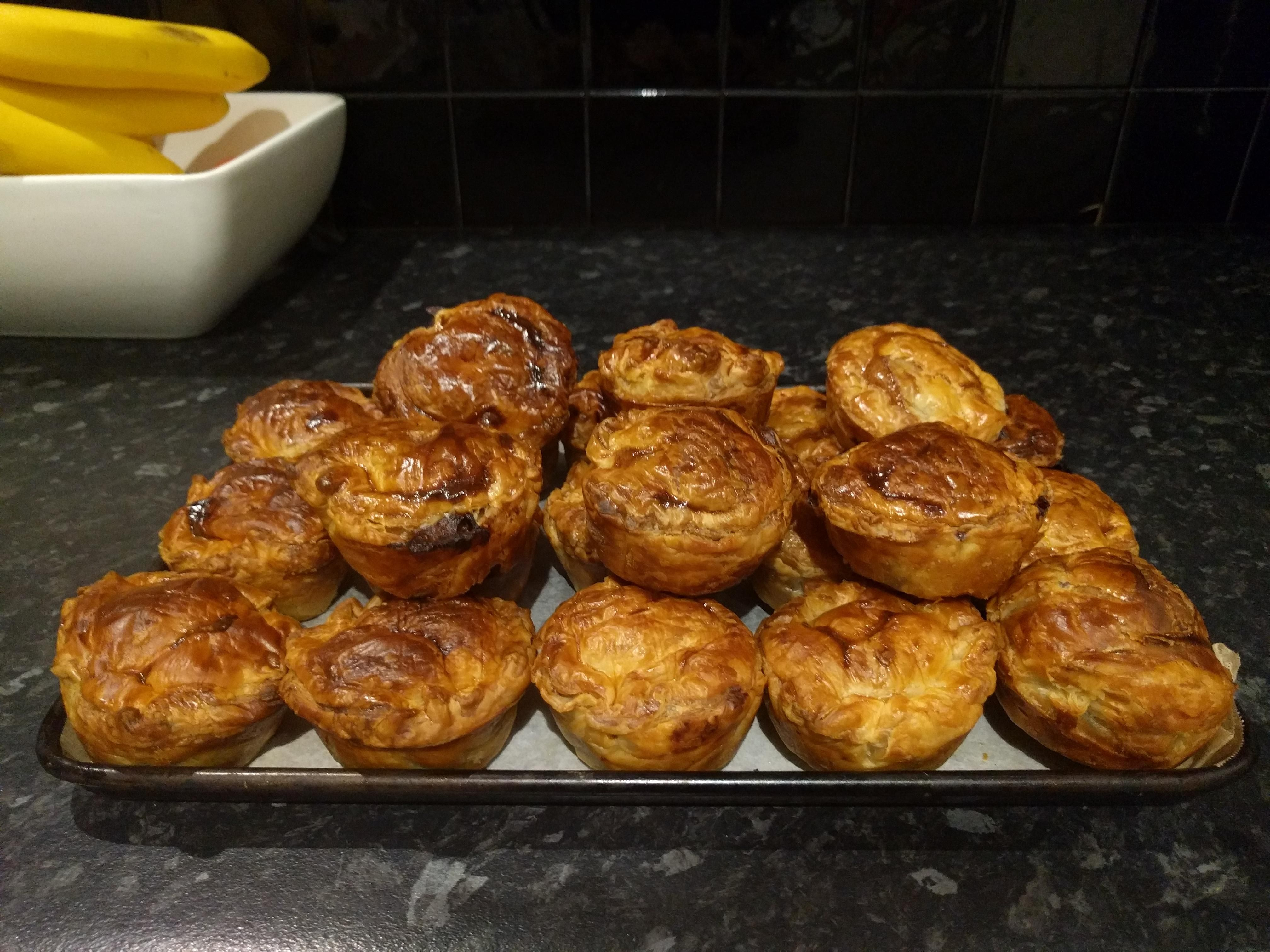 Homemade Steak and Guinness pies (slow cooked. 8 hours ...