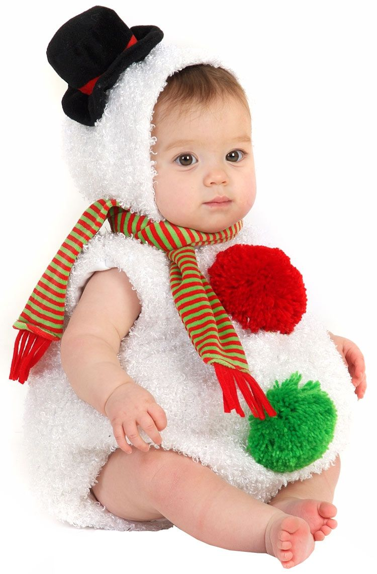 baby snowman outfit