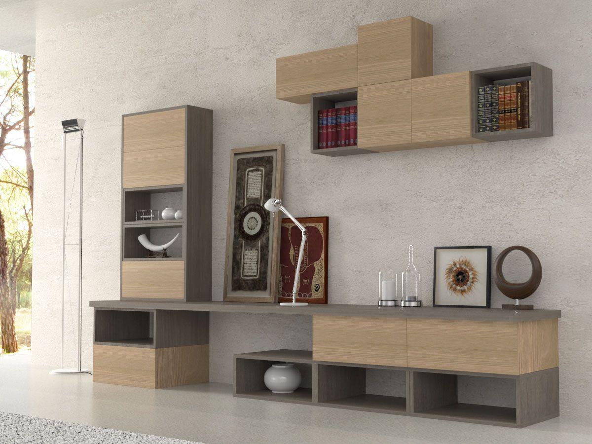 parete attrezzata etnika parete attrezzata per living, soggiorno ... - Parete Attrezzata Per Tv Logic 530