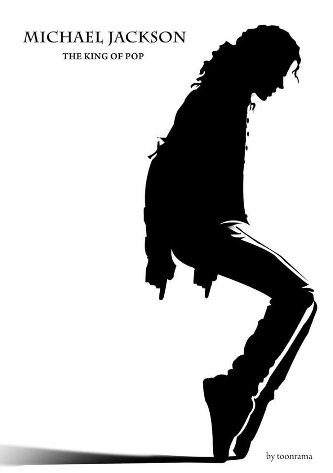 Trucks Michael Jackson king of pop Silhouette Car Decal Window Sticker Die Cut Bumper Laptops