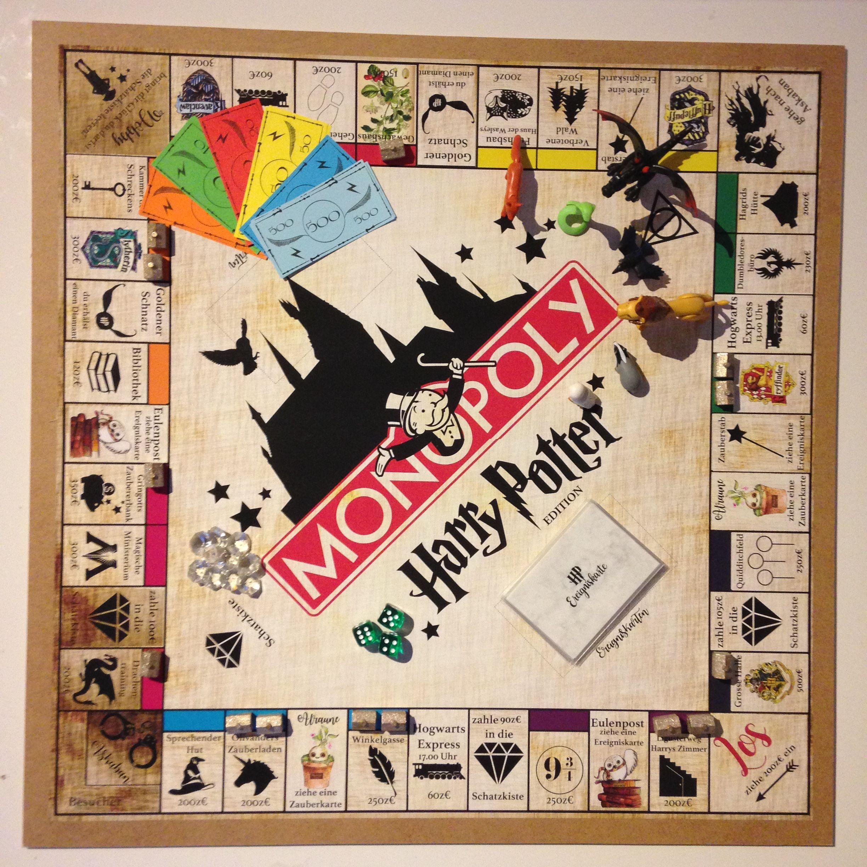 Harry Potter Monopoly Deutsch Harry Potter Selber Machen Brettspiel Selber Machen Harry Potter Geschenke