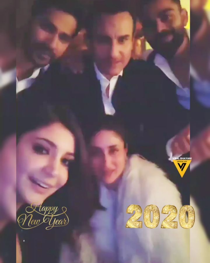 Happy New Year 2020 From Shah Rukh Khan To Sonam Kapoor