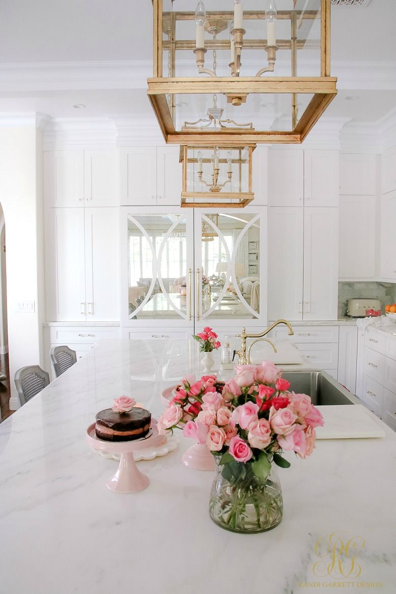 Romantic Valentine's Day Home Tour + Styling Tips | White ...