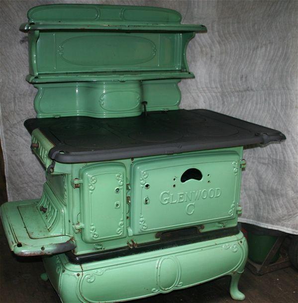 Glenwood Kitchen: Antique Cook Stoves For Sale
