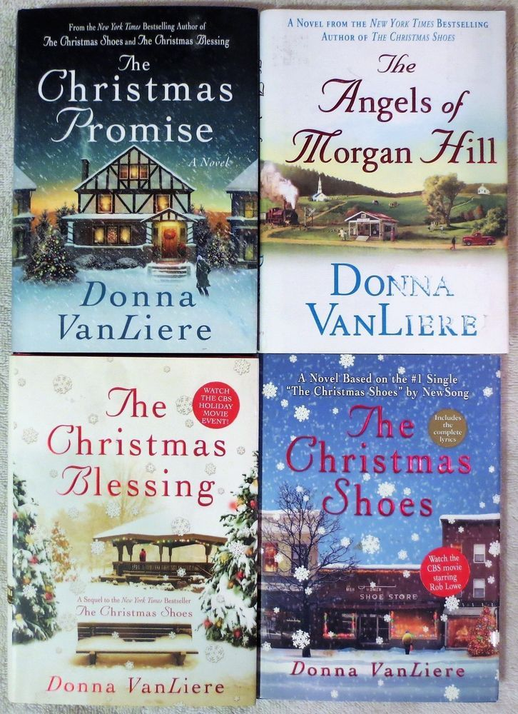 The Christmas Promise Book.Donna Vanliere Christmas Blessing Christmas Shoes Christmas