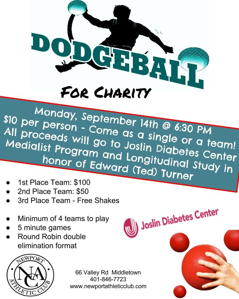 Newport Athletic Club Events Dodgeball for Charity