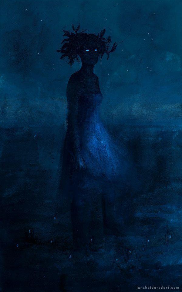 Artist Interview | Creepy Art Drawings | Fantasy Art  Digital Painting Inspiration Gloomy and Dark