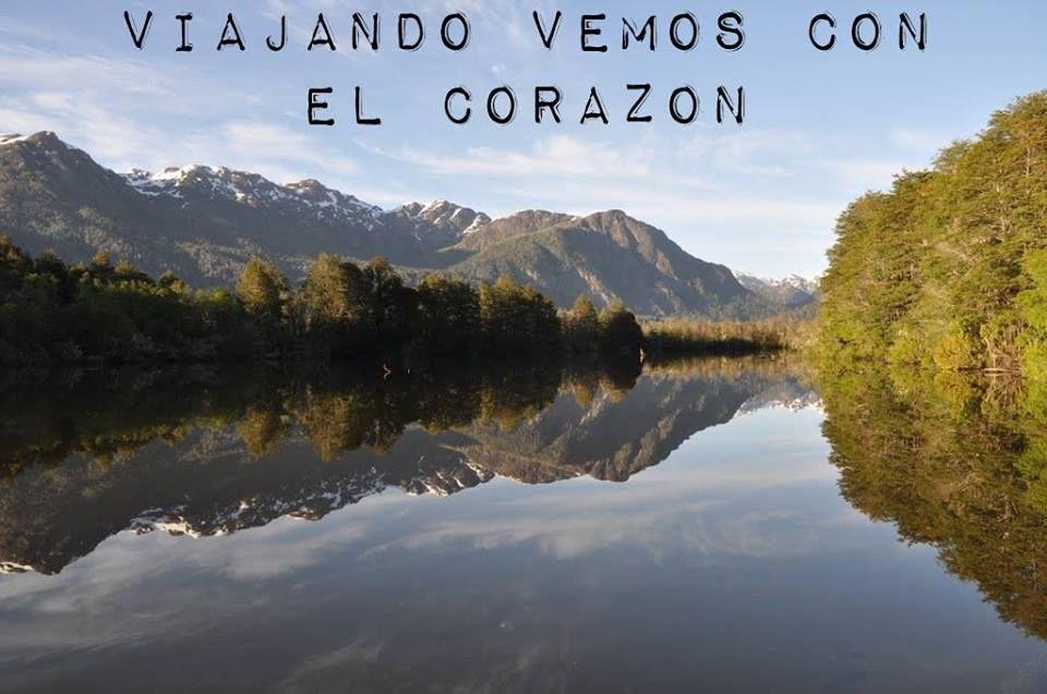 Lago Nahuel Huapi. donde solamente se siente con el corazón