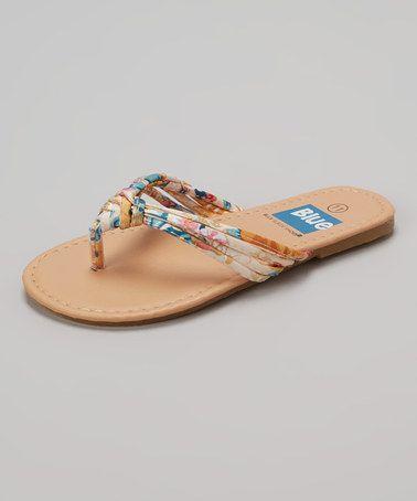 Flip-Flop | zulily | Blue suede shoes