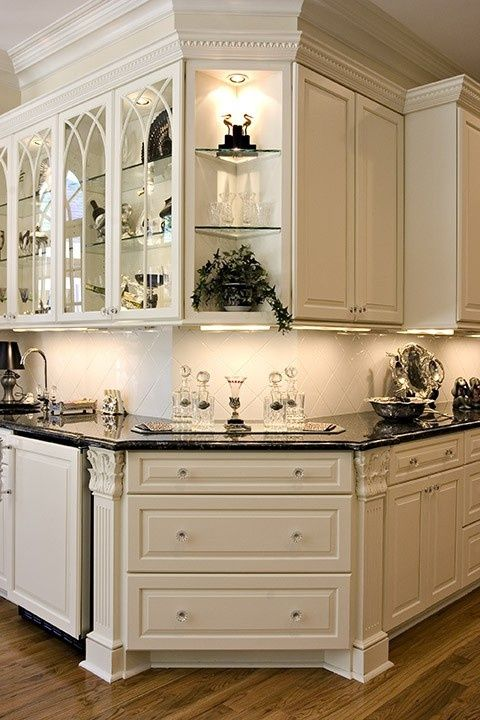 Love Everything About This Kitchen Color Of Cabinets Corner