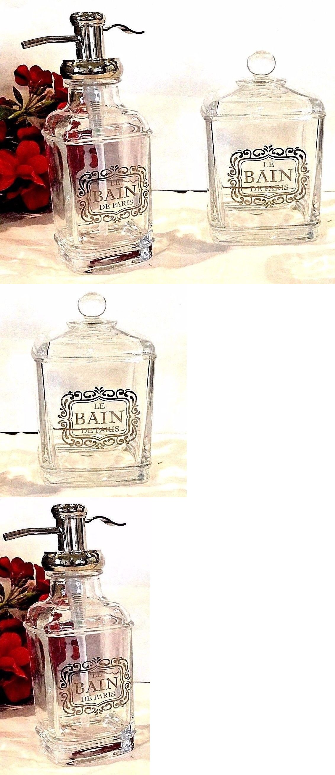 Bath Accessory Sets 176990: Bella Lux French Bath Accessories 2P ...