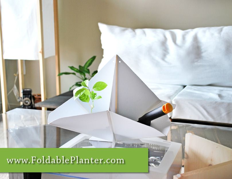 This product not only has its multiple features for various uses but also gives a visual design appeal for any room or home. #foldableplanter