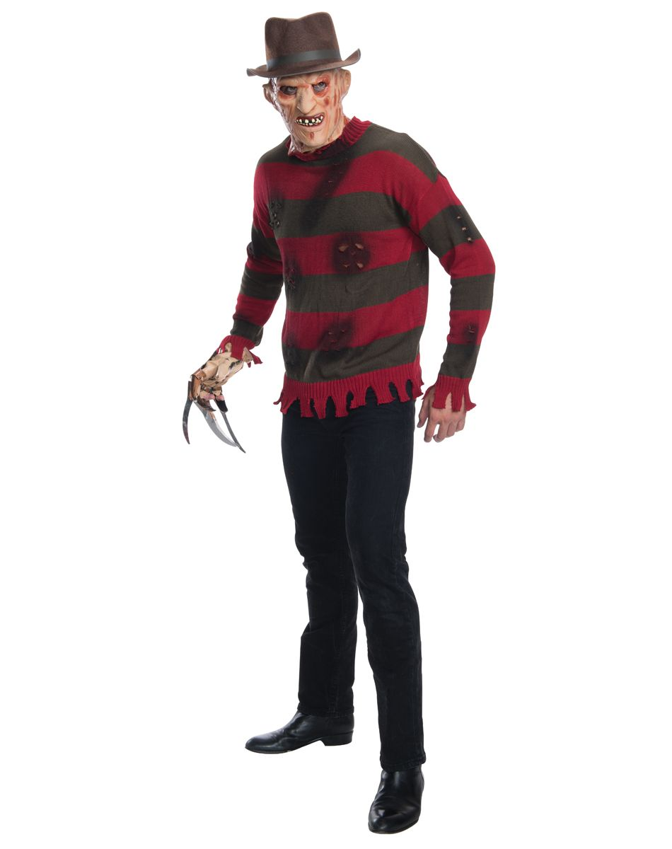 nightmare on elm street freddy krueger deluxe adult costume – spirit