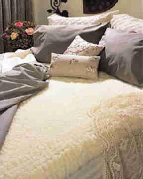 Snugfleece Wool Mattress Pads And Pillow Shams Sheepskin Mattress