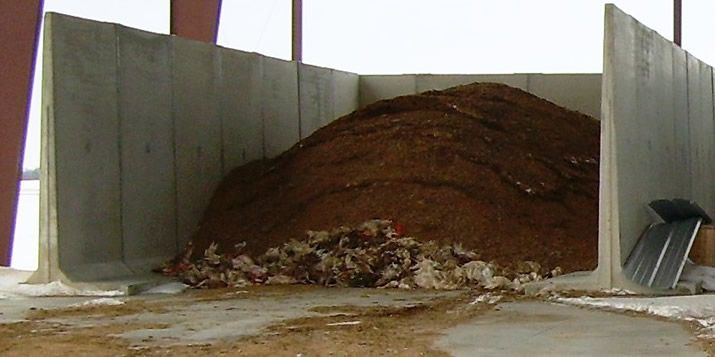 On Farm Compost And Fertilizer Creation With Precast Concrete Bunkers Precast Concrete Compost Concrete