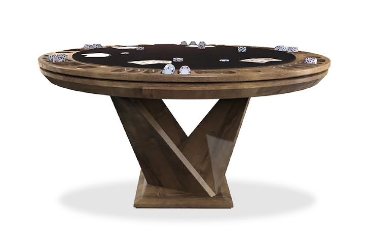 Kyoto Reversible Poker Table In 2020 Table Games Poker Table