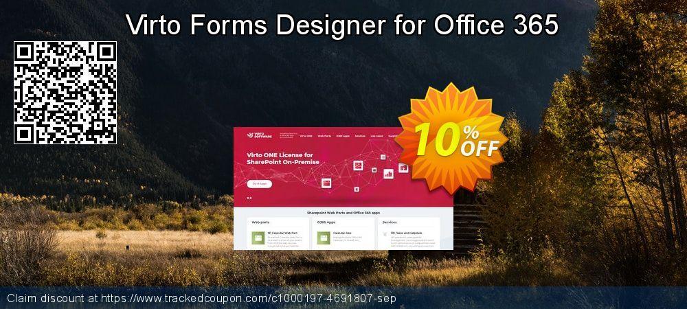 Virto Forms Designer For Office 365