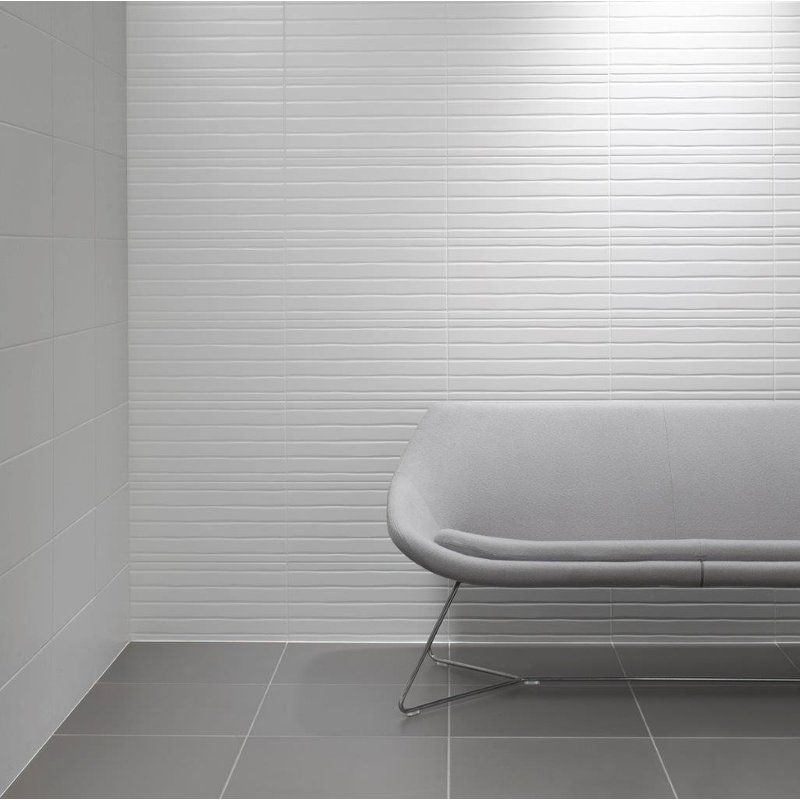 Conran Flow 10 X 20 Ceramic Field Tile Ceramic Wall Tiles White Tiles Wall Tiles