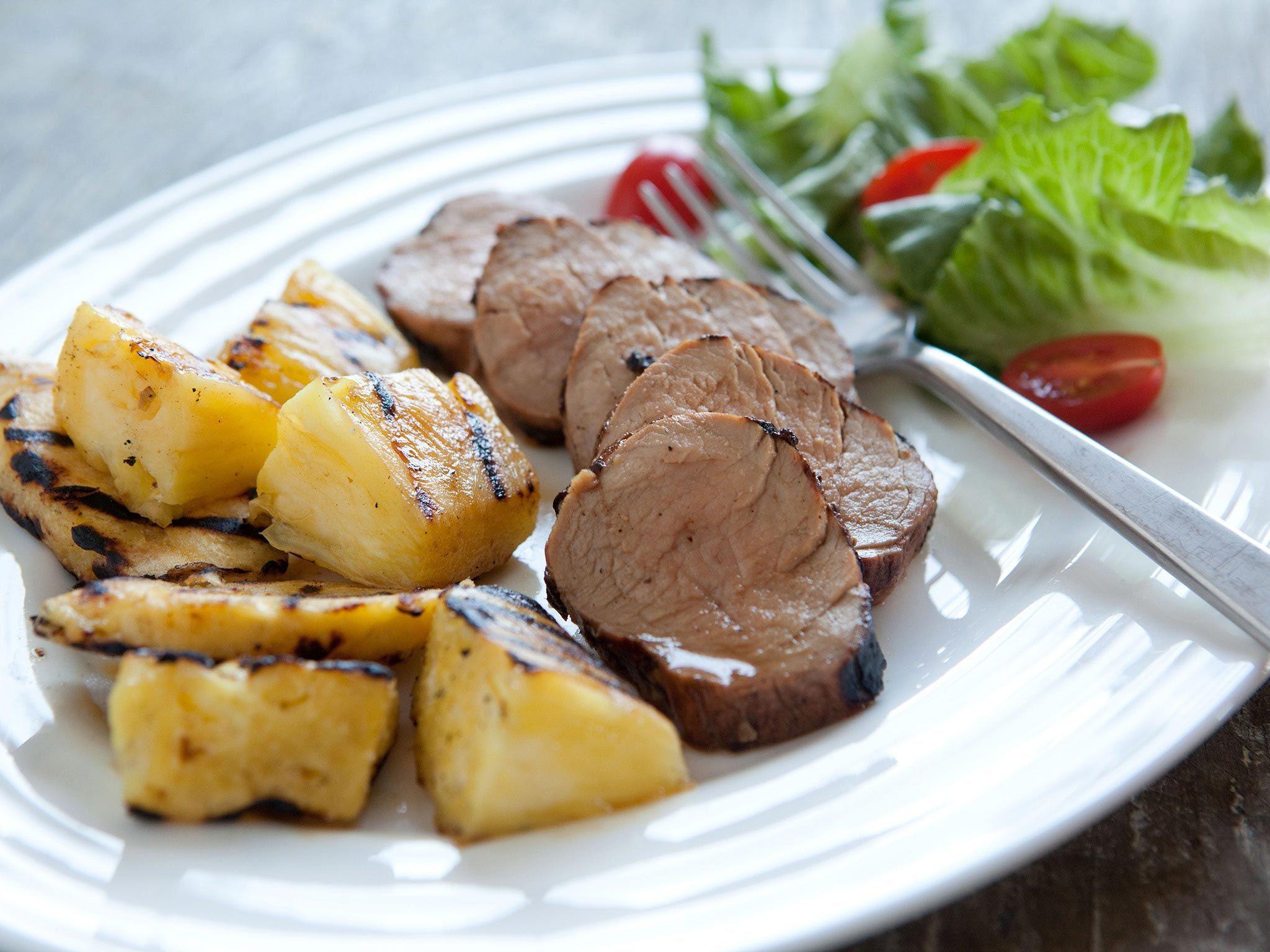 Grilled caribbean pork tenderloin recipe recipes pork