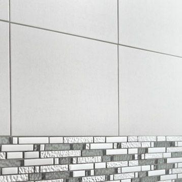 Carrelage mural Fly Aéro en faïence, gris clair, 25 x 40 cm 1290