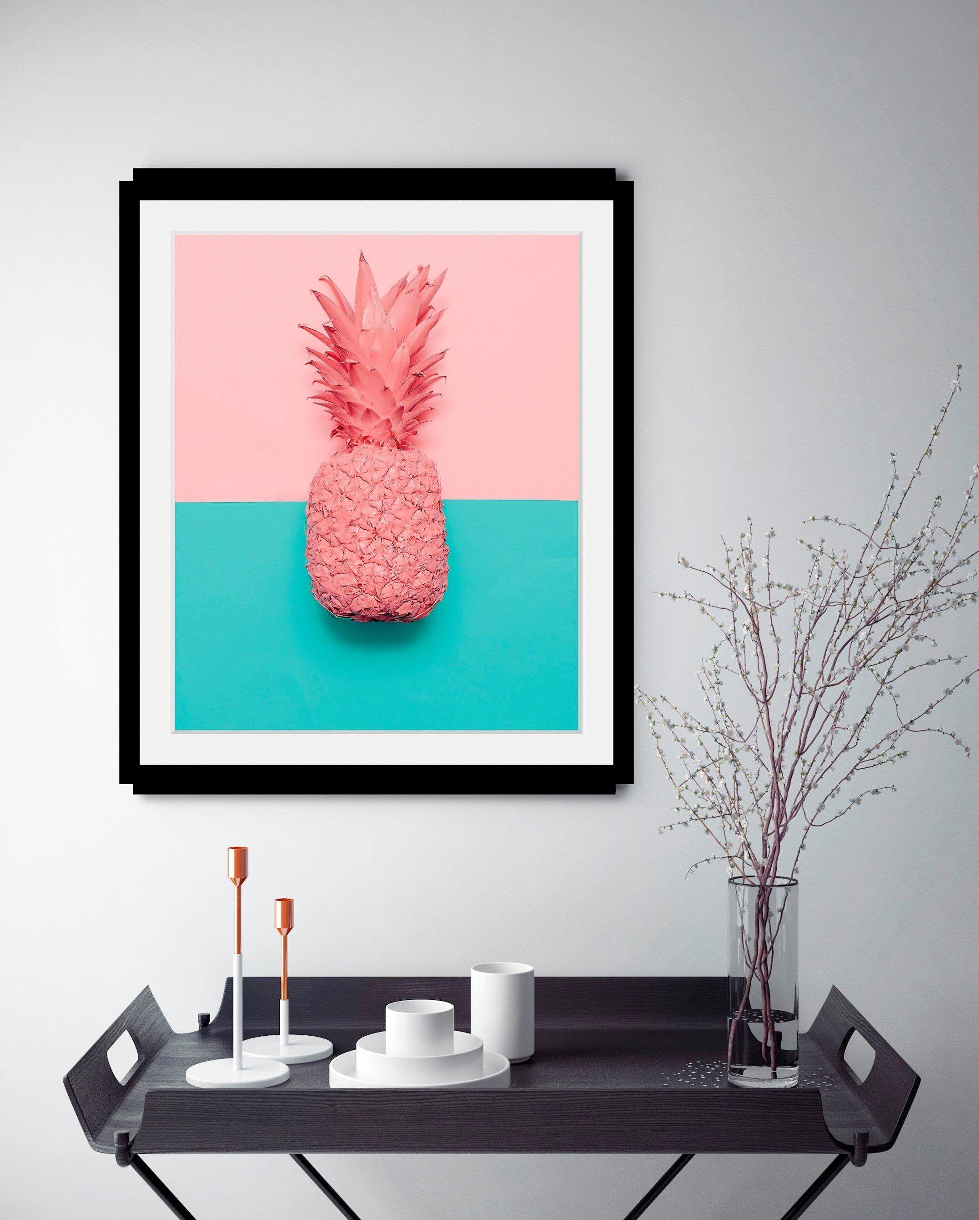 Bild »Ananas«, mehrfarbig, Material Acrylglas, Yourhome