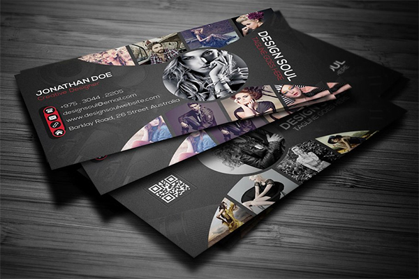Creative Photography Business Card in 2020 | Photography ...
