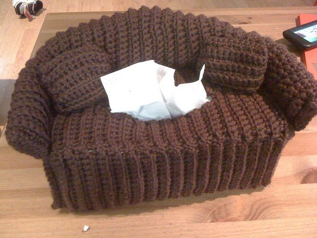 Couch Tissue Box Cover Pattern 2 29 Crochet Things
