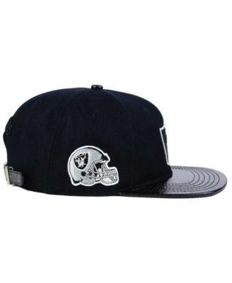 pretty nice 090ba 396dc ... clearance pro standard oakland raiders team color black strapback cap  black adjustable 18a52 f8048