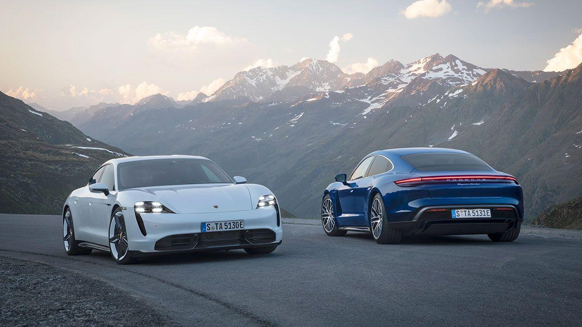 Porsche unveils the Taycan with impressive range